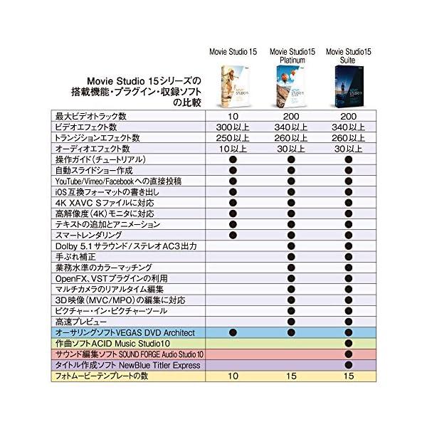 VEGAS Movie Studio 15(最...の紹介画像6