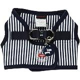 Puppia Bobby Vest Striped Navy, Medium