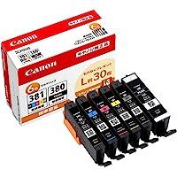 Canon 純正 インクカートリッジ BCI-381(BK/C/M/Y/GY)+380 6色マルチパック BCI-381…