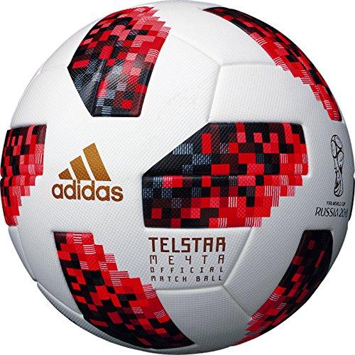 adidas(アディダス) 5号球 テルスター ミチター 2018 FIFAワールドカップ ノックアウトステージ 公式試合球 AF5300F