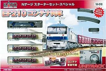 KATO Nゲージ スターターセットスペシャル EF210 コンテナ列車 10-010 鉄道模型入門セット