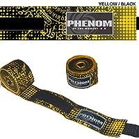 PHENOMフェノム サクヤン バンテージ イエロー×黒 400cm×5cm