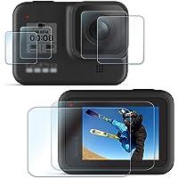 【6枚】FitStill 強化ガラスフィルムセット に適用 Hero 8 Black アンチスクラッチ | メイン画面用…