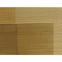 純国産/日本製 捺染千鳥 い草座布団 『蕪村(ぶそん) 2枚組』 ブラウン 約55×55cm×2P