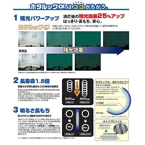 NECライティング ホタルックα 30形蛍光ランプ FCL30EDF28-SHG-A 1個 328-5138