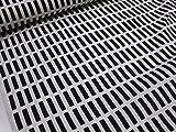 北欧風 アルテック風 カラフル格子 ブラック黒 オックス生地 γ|かわいい |安い|服地| ソーイング