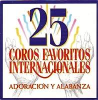 America's 25 Series - 25 Coros Favoritos Internacionales (1 CD)