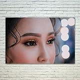 WestlakeアートBeauty Lip–ポスター印刷ウォールアート–現代画像写真ホーム装飾オフィス誕生日ギフト–Unframedインチ 12x18 in ホワイト
