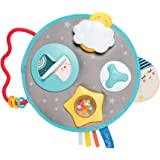 Taf Toys Mini Moon Activity Center for Babies. Baby's Activity and Entertaining take-Along Center. Soft Colors to Keep Baby C