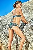 KHONGBOON コンブン 正規販売店 2017年モデル 上下セット セクシービキニ 水着 リバーシブル スイムウェア 大人女子 (XS)
