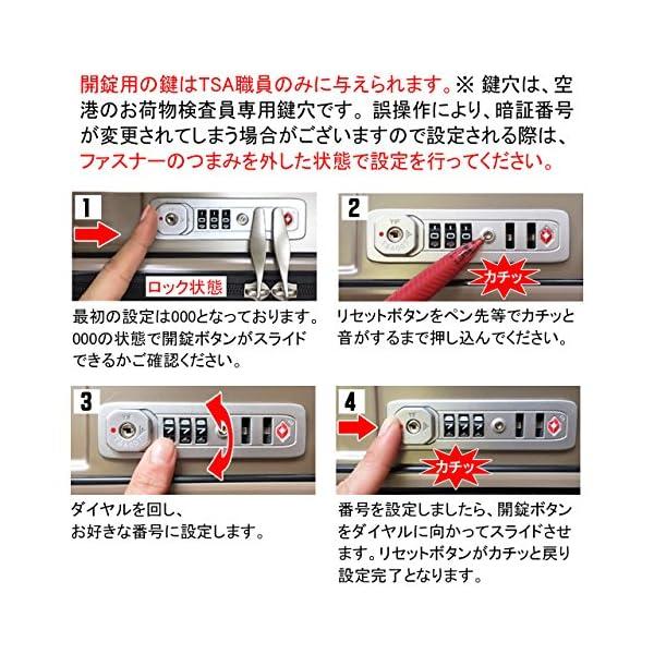 ラッキーパンダ スーツケース TY001 TS...の紹介画像7