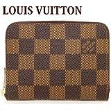 ルイヴィトン LOUIS VUITTON コインケース レディース 小銭入れ ラウンドファスナー ダミエ ジッピー コイン パース N63070