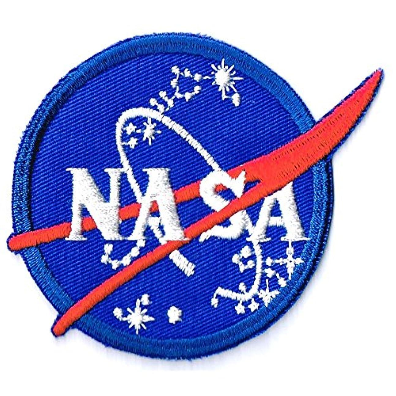 アナニバーびっくりするアシストエンブレムワッペン NASA