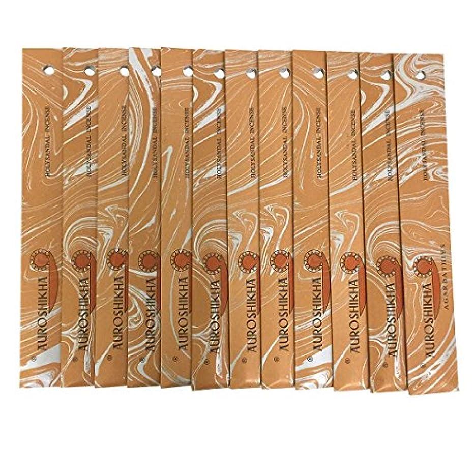 レンディションテレマコス排除AUROSHIKHA オウロシカ(HOLYSANDALホーリーサンダル12個セット) マーブルパッケージスティック 送料無料