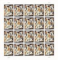 Jazz Sheet of Twenty 44 Cent Stamps Scott# 4503 by USPS
