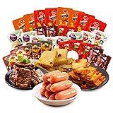 辣条 鱼豆腐 豆干 肠 素牛排 口水娃零食大礼包 軽食大礼包 500g