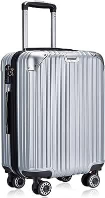 TTOVALIGERIA スーツケース キャリーバッグ キャリーケース 機内持込 軽量 大型 静音 360度回転 TSAローク搭載 安心の1年