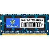 DDR3L 1600MHz PC3L-12800 8GB×1枚 SODIMM ノートPC用 メモリCL11 204Pin Non-ECC 無期限保証(電圧1.35V & 1.5V 両対応)