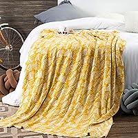 毛布のソファベッドニットショールブランケット旅行毛布秋冬の感謝祭の贈り物130cmX180cm (色 : B, サイズ さいず : 130cmX180cm)