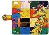 NiJiSuKe×collaborn iPhone 6s / 6 (4.7インチ)専用 デザイナーコラボ手帳型ケース キリン NJ-BKI6-019