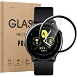 TSGarden for Samsung Galaxy Watch Active2 フィルム 44mm 保護フィルム Galaxy Watch Active2 44mm 液晶保護フイルム 画面保護 柔らかい 保護フィルム 3D曲面 高透過率 指紋防止