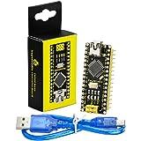 KEYESTUDIO 5V Nanoボード V3.0 ATmega328P CH340 + USBケーブル キット for Arduino 互換 アルディーノ アルデュイーノ アルドゥイーノ ナノ
