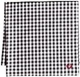 (フレッドペリー)FRED PERRY ハンカチ Handkerchief F9912 91 91BLACK(GINGHAM) F
