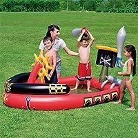 インフレータブル海賊船パドリングプールベビースイミングプール子供プール子供スプラッシュプレイセンター