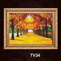 A化粧枠装飾は絵画が絶妙な絵画ではTV34ヨーロッパの装飾画メーターボックス上向きの油圧配布ボックス断面 よくできた (Size : 60*40)