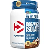 Dymatize 100% Whey Isolate Protein Powder, Fast Digestion & Absorption, Low Sugar & Low Calorie, Banned Substance Free, Class