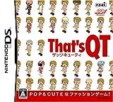 「That's QT」の画像