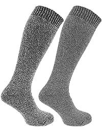 メンズ あったかサーマル ウールブレンド 靴下セット ソックスセット ロングソックス (2足組) 冬 男性用