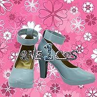 【サイズ選択可】コスプレ靴 ブーツ 12L0908 ラブライブ! Love Live ユメノトビラ 高坂 穂乃果 男性28CM