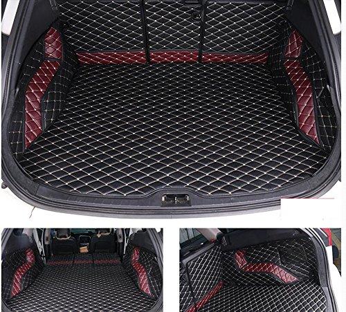【TH·JP 】ボルボ XC60 専用 トランク 防水マット フロアマット 全面保護 社外品 3pセット ブラック