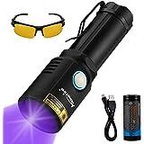 Alonefire X901UV 365nm UV Flashlight Ultraviolet USB Rechargeable