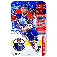"WinCraft Edmonton Oilers Official NHL 11 "" x 17 "" Playerプラスチック壁サイン11 x 17 by 286208"