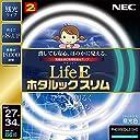 NEC 丸形スリム蛍光灯(FHC) LifeEホタルックスリム 86W 27形 34形パック品 昼光色 FHC86ED-LE-SHG