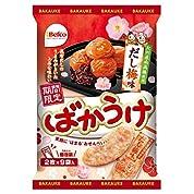 栗山米菓 ばかうけだし梅味 18枚×12袋