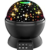 Star Sky Night Lamp, Amazer-T Star Night Light Projector for Kids Rotating Light Projector for Kids