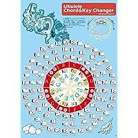 Jam's Ukulele UKU-03/ウクレレ コード チェンジャー マーメイド(5度圏つき) コード ウクレレ 簡単 変換 楽々