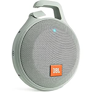 【国内正規品】JBL CLIP+ ポータブルワイヤレススピーカー IPX5防水機能 Bluetooth対応 グレイ  JBLCLIPPLUSGRAY