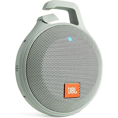 RoomClip商品情報 - JBL CLIP+ Bluetoothスピーカー IPX5防水機能 ポータブル/ワイヤレス対応 グレイ JBLCLIPPLUSGRAY【国内正規品】