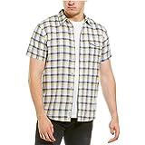 Lucky Brand Men's Short Sleeve Button Monroe Shirt