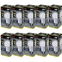 アイリスオーヤマ LED電球 E26 広配光タイプ 60形相当 昼光色 10個セット LDA7D-G-6T4