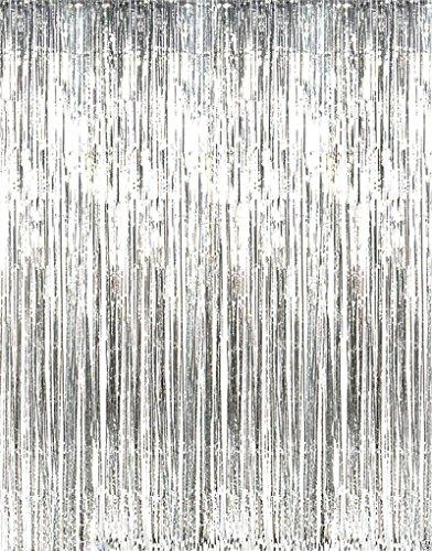 カラフルな雨のカーテン フリンジカーテン写真バックドロップ装...