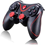 Hanbaili Bluetooth Wireless Game Controller, Gamepad Joystick for iOS Android Cellphone Tablet TV Box, Pad, Tablet
