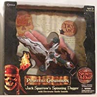 Pirates of the Caribbean Jack Sparrow's Spinning Dagger with Electronic Battle Sounds by Disney