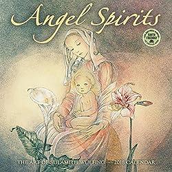 Angel Spirits 2018 Calendar: The Art of Sulamith Wuelfing