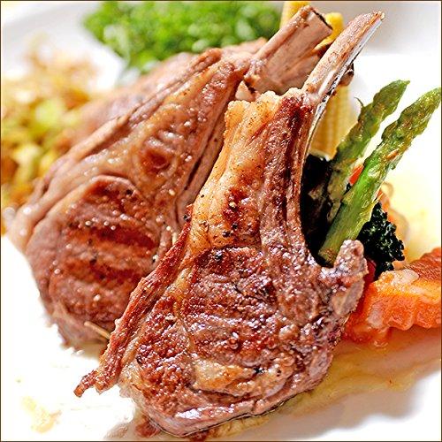 ラム肉 骨付きラム肉 ラムチョップ (6本入り/400g/冷凍) 業務用 ラム肉チョップ 羊肉 BBQ 北海道