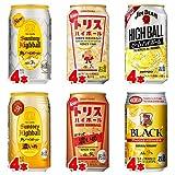 ウイスキーハイボール 飲み比べバラエティ350ml×24缶(6種×4本)